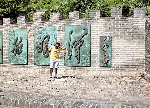 喜歡旅行的塞恩常在中國各地旅行。