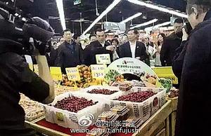 網曝地方官忽悠李克強  果蔬標「特價」