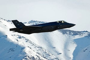 美隱形戰機F-35或能擊落北韓導彈