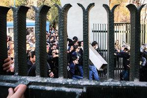 外媒:伊朗如用武力鎮壓抗議 美將祭新制裁