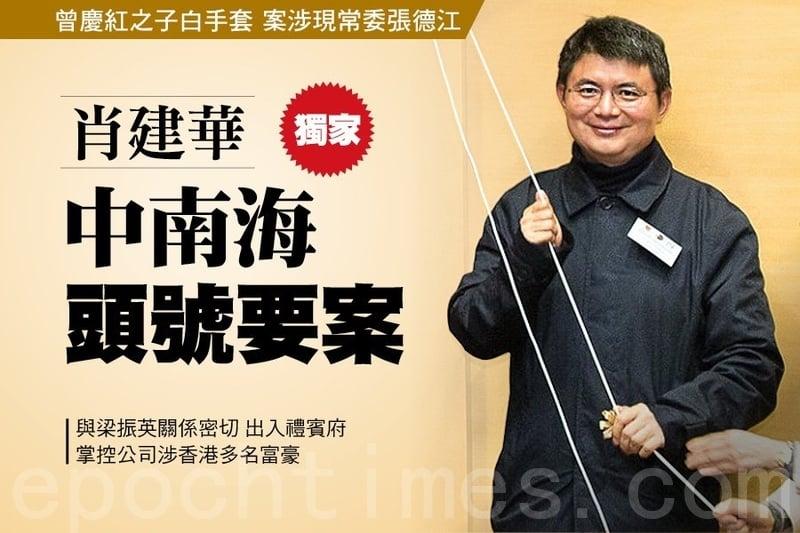 金融大鱷、明天系掌門人肖建華大年三十被從香港四季酒店帶回大陸,掀開2017 年金融反腐風暴。(大紀元資料圖片)