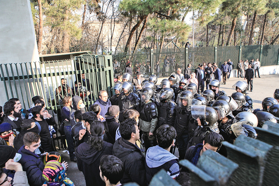 伊朗反獨裁活動進入第三天