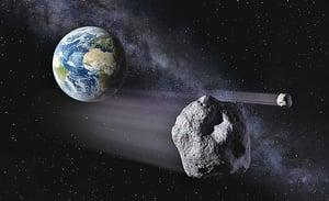 小行星再次與地球擦身而過