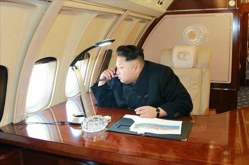 2018年已經到了,面對這一個被外界稱為「瘋子」的政權,第二次韓戰還有多遠呢?(KCNA/YONHAP/AFP)