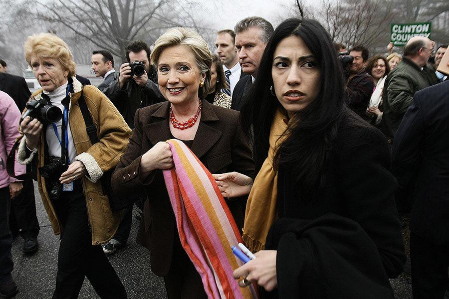 「抓起來」 特朗普抨擊希拉莉助手阿貝丁