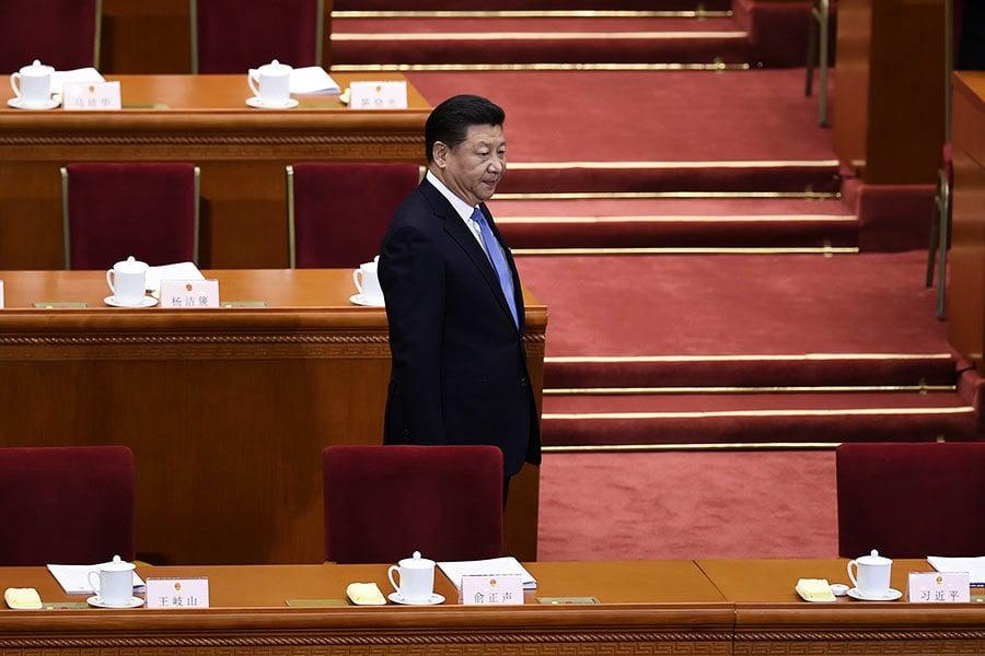 新華社突搶先發佈修憲提議 習在高層遇阻?