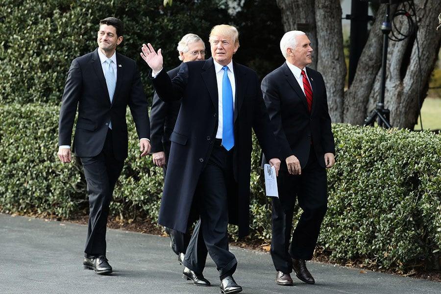 影響深遠 特朗普和國會2018面對的八件大事