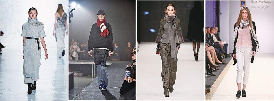 圍巾怎樣佩戴才更時尚