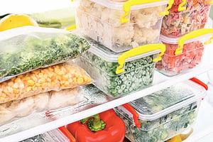 發揮冷凍技巧延長食物賞味期