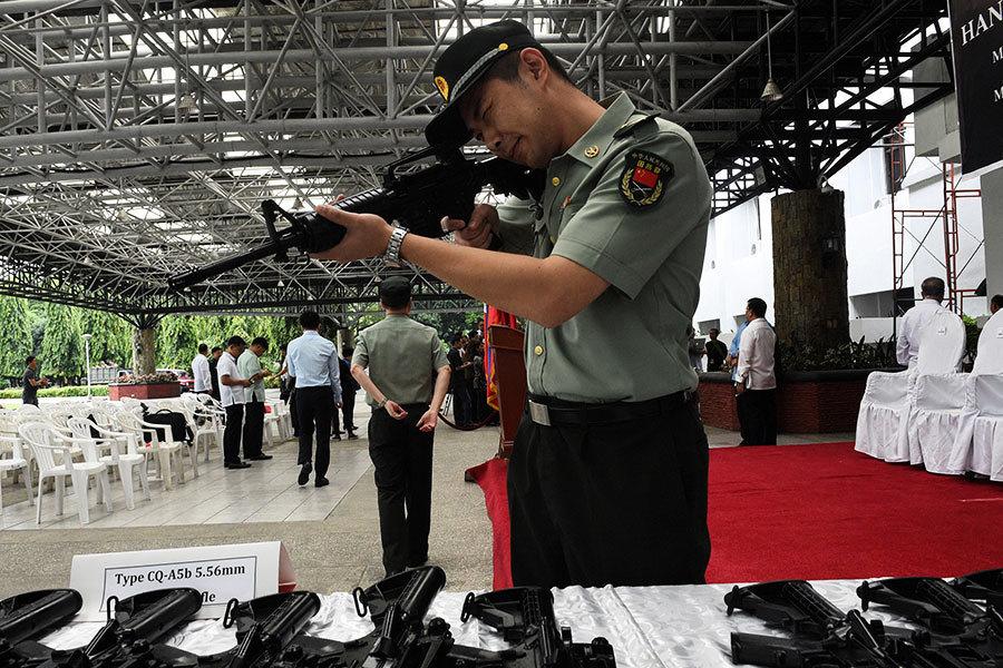 IS武器哪裏來?調查:四成三中國製