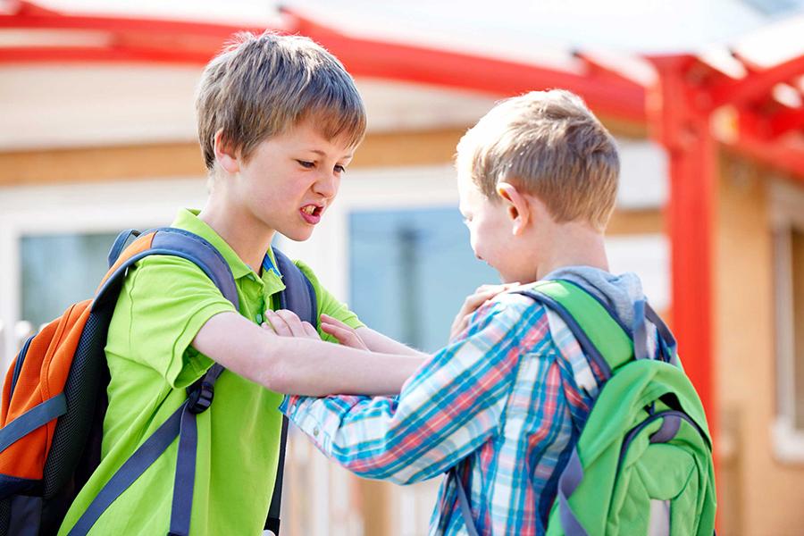 加拿大研究發現,基因雖然決定兒童的攻擊行為,但成長環境決定了兒童長大後攻擊行為的增減。(ISTOCK)