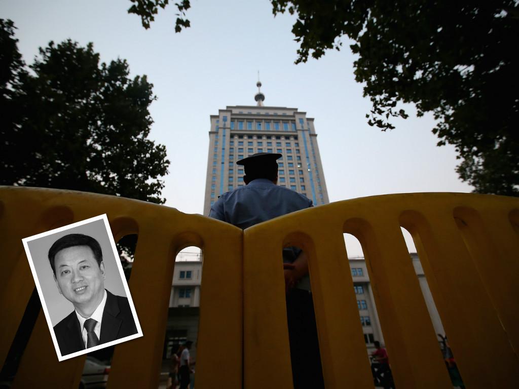 1月3日,中共陝西省副省長馮新柱落馬,成為2018年的「首虎」。(Getty Images/大紀元合成)