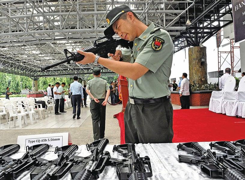 調查:IS武器43%來自中國