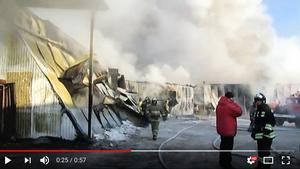 俄羅斯鞋廠發生大火十死 包括七名中國人
