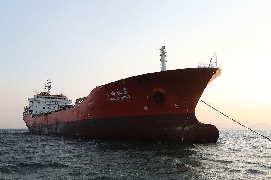 美情報機構發現六艘中國船暗助北韓