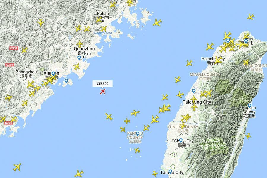 美專家:M503航線違反國際法 中共攻台極難