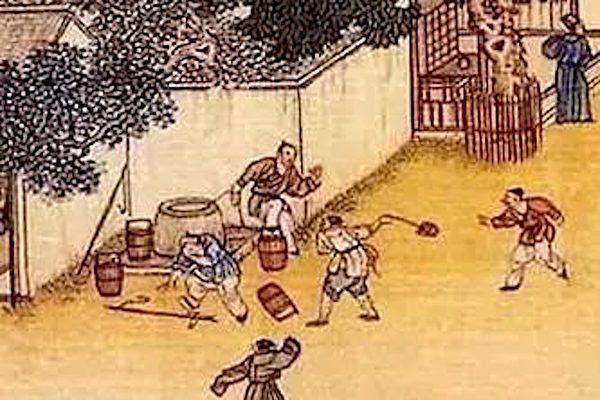 百年老街,樸實農村。(楊秋蓮/大紀元)