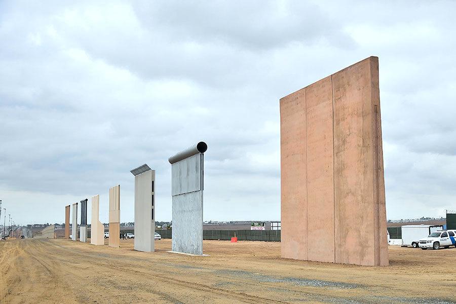 美墨邊境牆預算曝光 總長1000英里10年180億