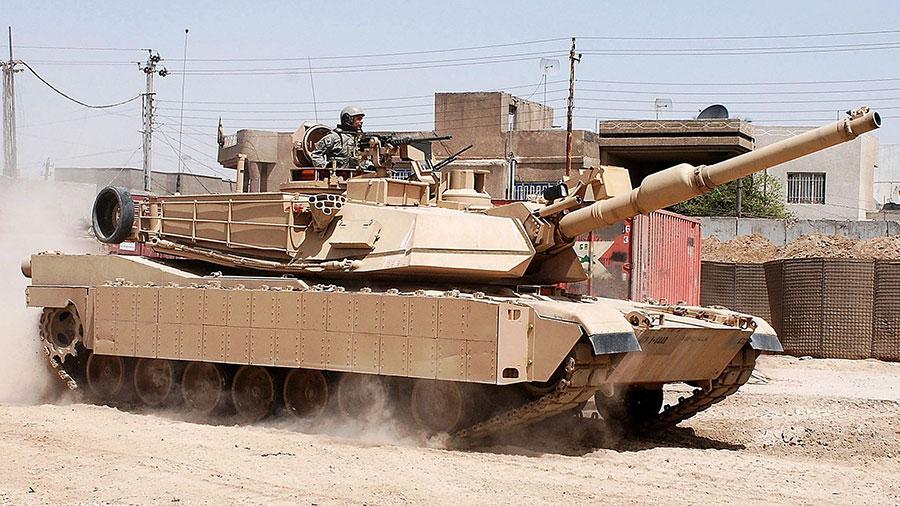 M1A2艾布拉姆斯(Abrams)主戰坦克。(維基百科/Flickr)