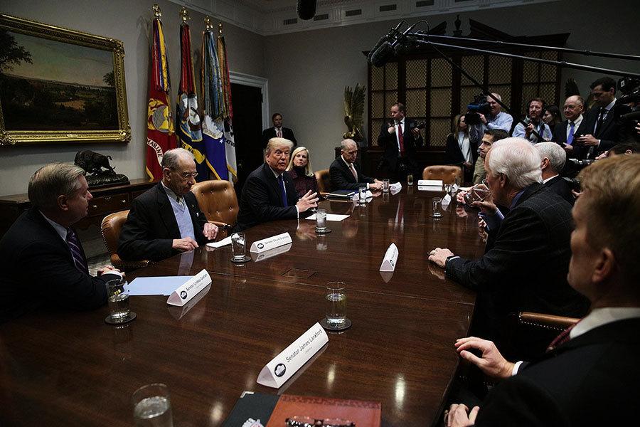 解決DACA移民法案 特朗普重申改革三大要素