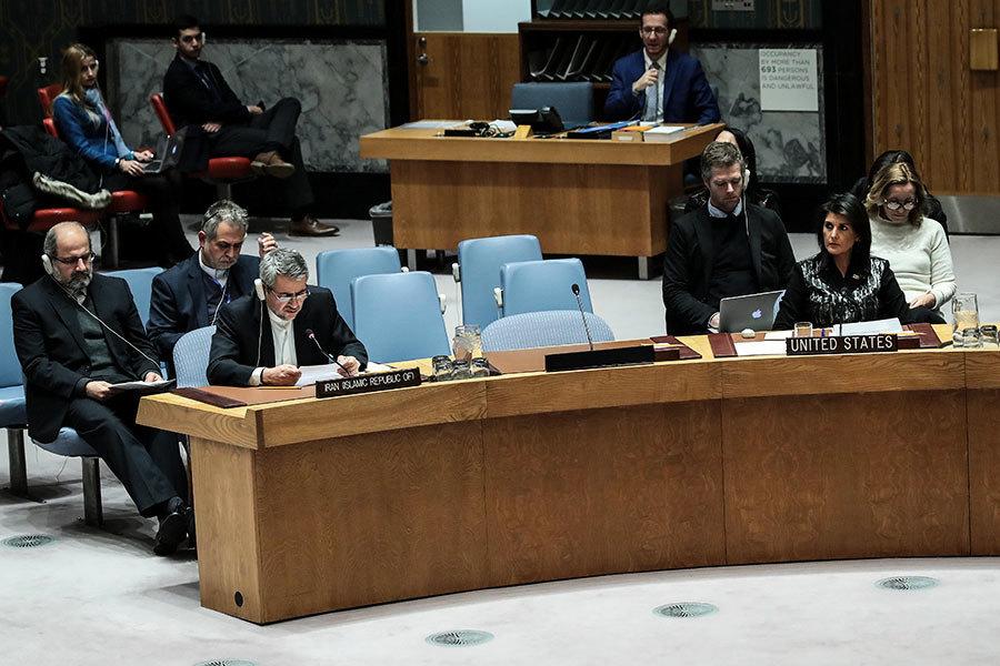 聯合國緊急開會 黑利:舉世在看伊朗對抗議回應