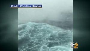 「炸彈氣旋」侵襲豪華郵輪 四千人海上驚魂