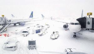 極寒致甘迺迪機場延誤又水浸 美東下周回暖