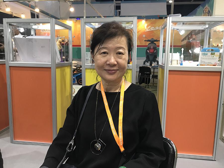 台灣玩具暨孕嬰童用品工業同業公會秘書長簡淑超女士