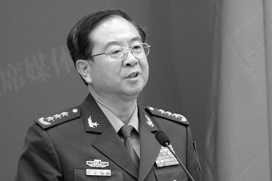 1月9日,中共軍委聯合參謀部前參謀長房峰輝被調查。(YOHSUKE MIZUNO/AFP/Getty Images)