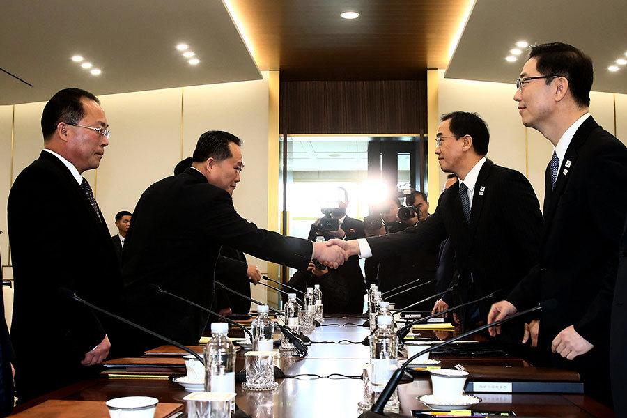 兩韓會談開始 冀商議離散家屬團聚