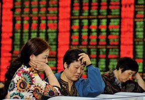 大陸股市急挫 恒指跌穿22000