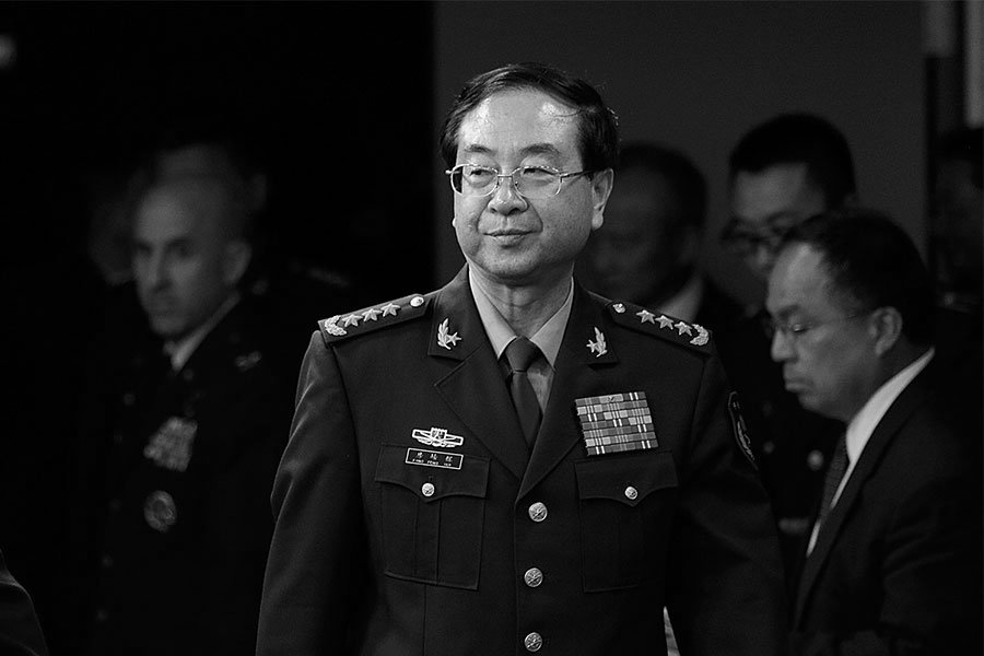 1月9日,中共軍委聯合參謀部前參謀長房峰輝被證實落馬。(T.J. Kirkpatrick/Getty Images)