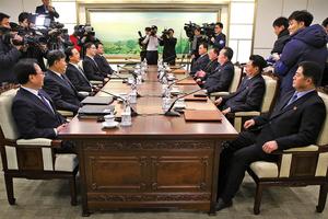 兩韓會談 北韓對無核化議題未回應