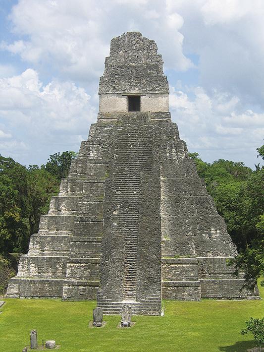 蒂卡爾一號金字塔。(網絡圖片)