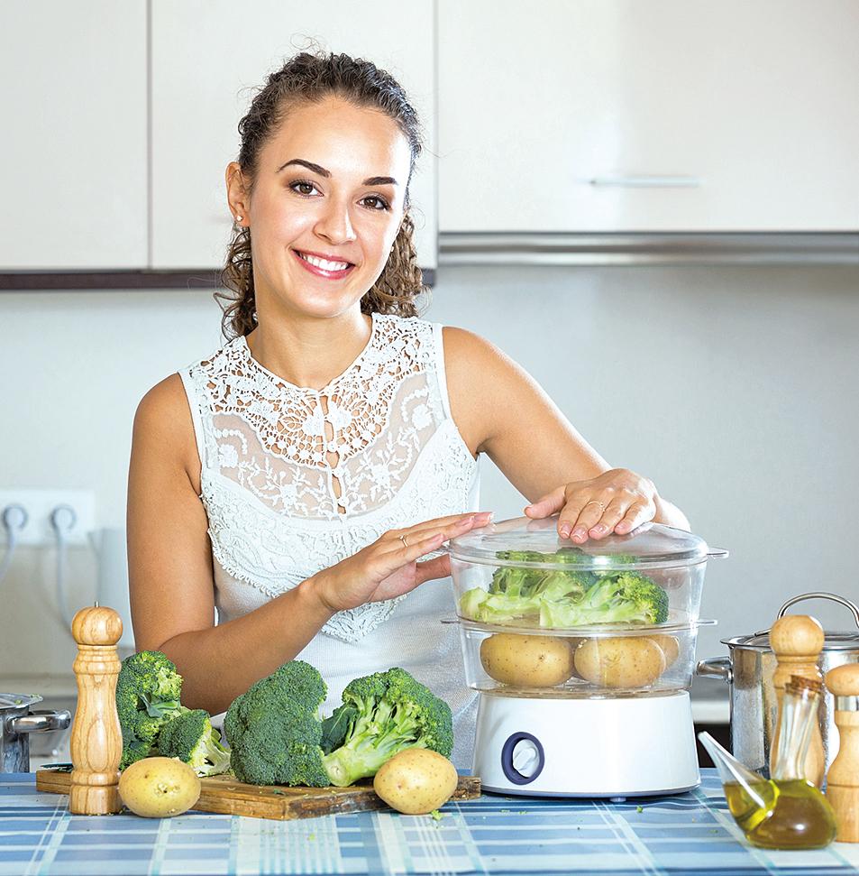 想要獲取薯仔最大的療癒效果並保留完整養份,最好的料理方式是清蒸。
