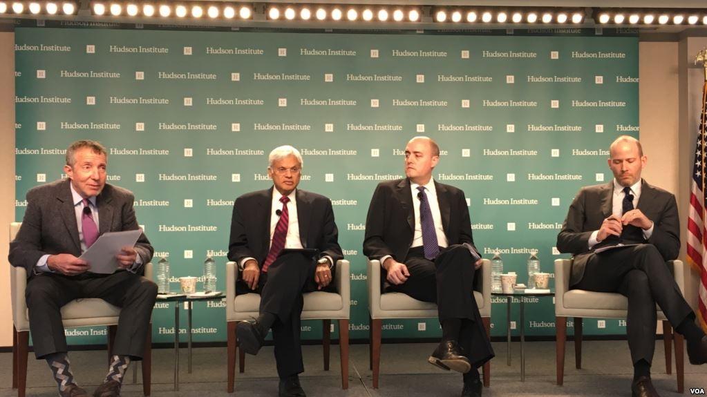華盛頓智庫哈德遜研究專家討論台灣與美國印太戰略。(美國之音)
