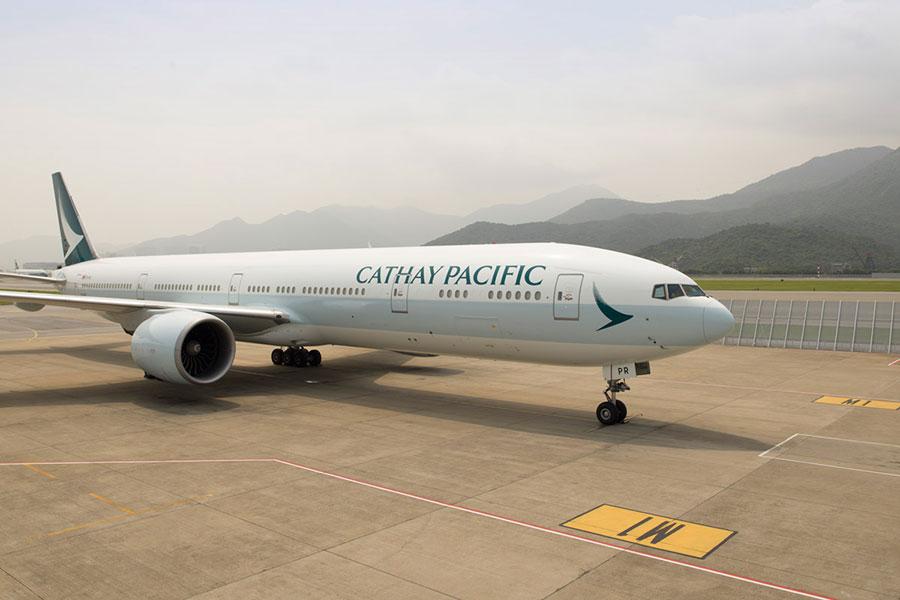 國泰航空名列最安全的20家航空公司之一。(國泰航空提供)