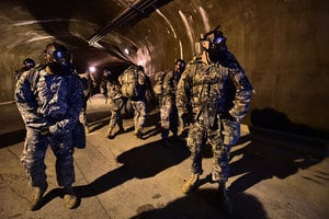 因應北韓5000條地道 美軍訓練地道作戰