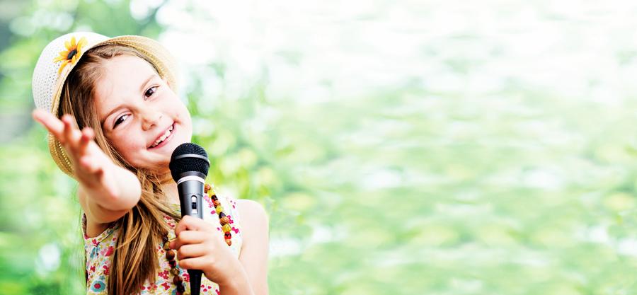 幸福的孩子 愛唱歌