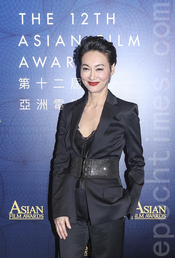 第12屆亞洲電影大獎公佈入圍名單,「亞洲卓越電影人大獎」由香港著名女演員惠英紅奪得。(余鋼/大紀元)