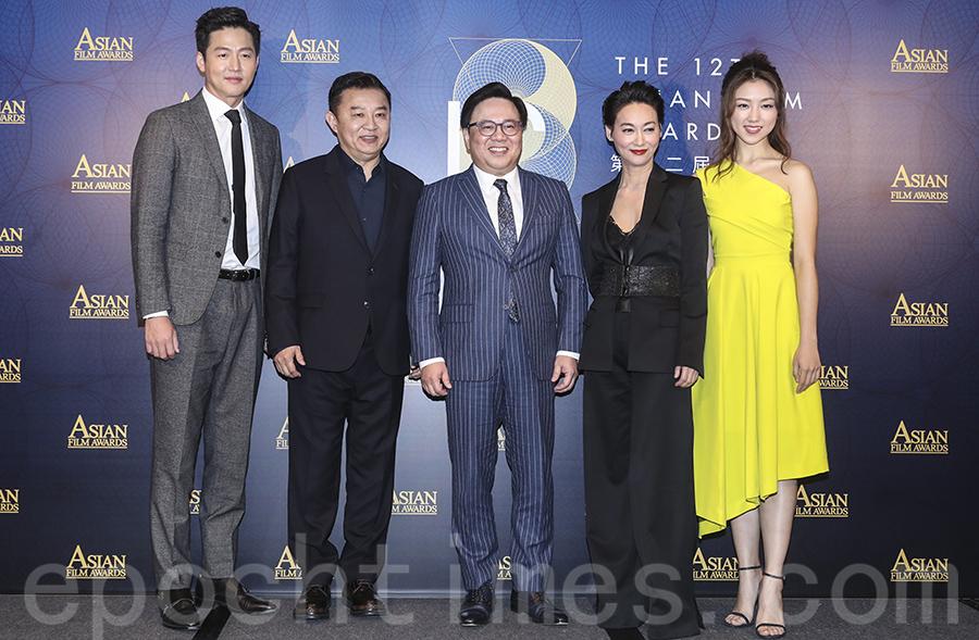第12屆亞洲電影大獎頒獎禮將於2018年3月17日在澳門威尼斯人劇場舉行。(余鋼/大紀元)