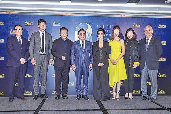 第12屆亞洲電影大獎昨日公佈第12屆入圍名單,並公佈今年主題為《武動亞洲》。(余鋼/大紀元)