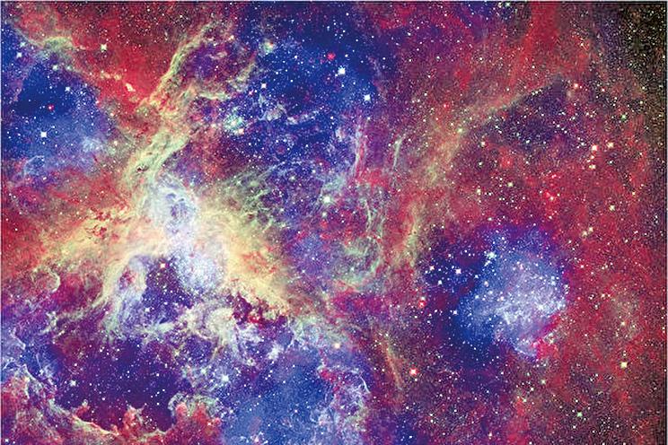 遙遠太空突然出現前所未見的大量巨大天體,科學家對此倍感驚奇。(NASA)