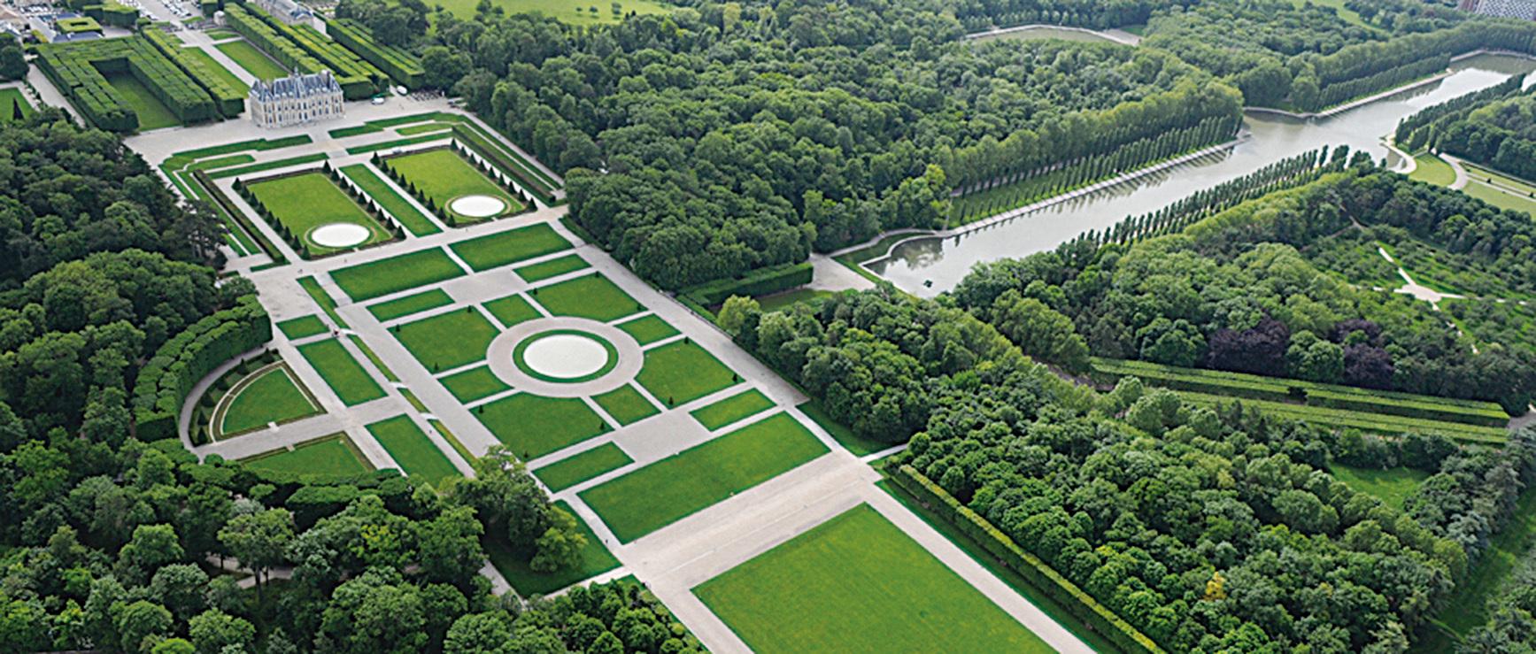 空中俯瞰蘇鎮城堡。(大紀元資料圖片)