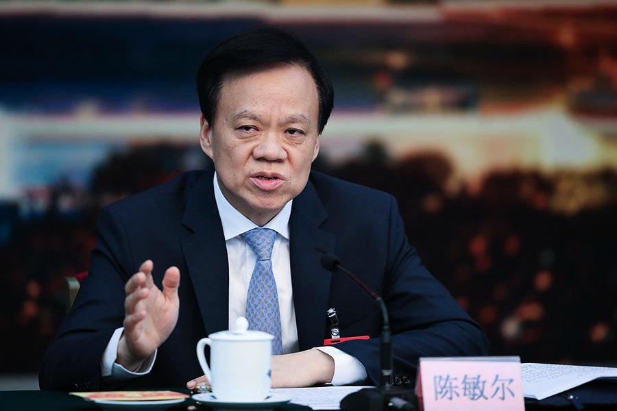 陳敏爾主政重慶後 新年撤換五名區委書記