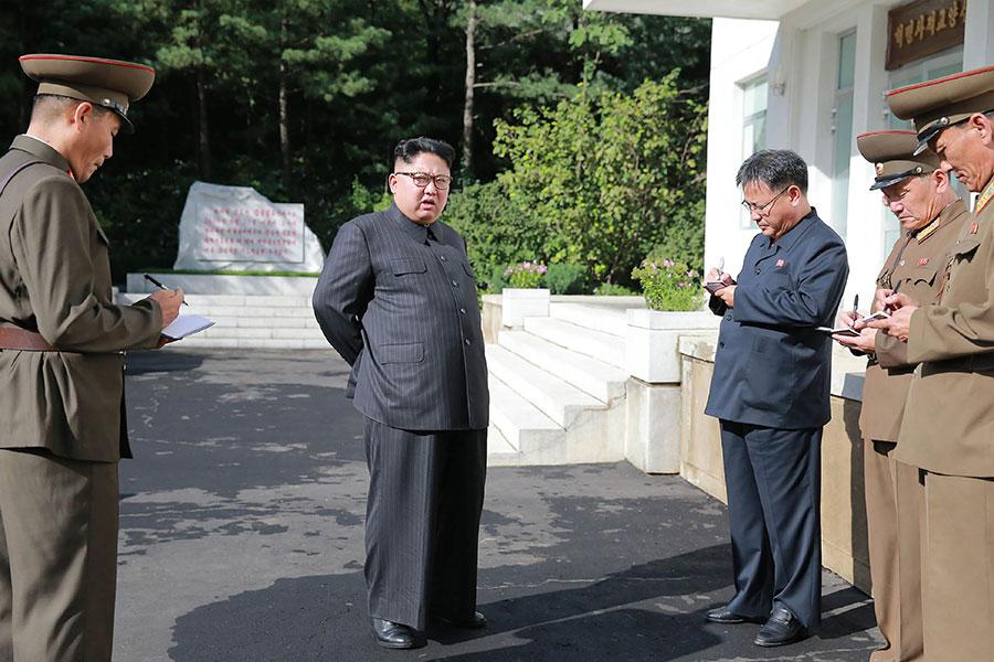 加拿大和其它在韓戰中支持南韓的國家下周將在溫哥華開會,討論如何加緊對付北韓,包括是否要開始攔截北韓船隻。(STR/AFP/Getty Images)
