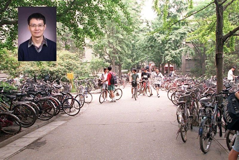 故事的主人翁、北京大學數學科學學院教授安金鵬站出來澄清:「很多內容不實,那個人不是我。」(Getty Images/大紀元合成)