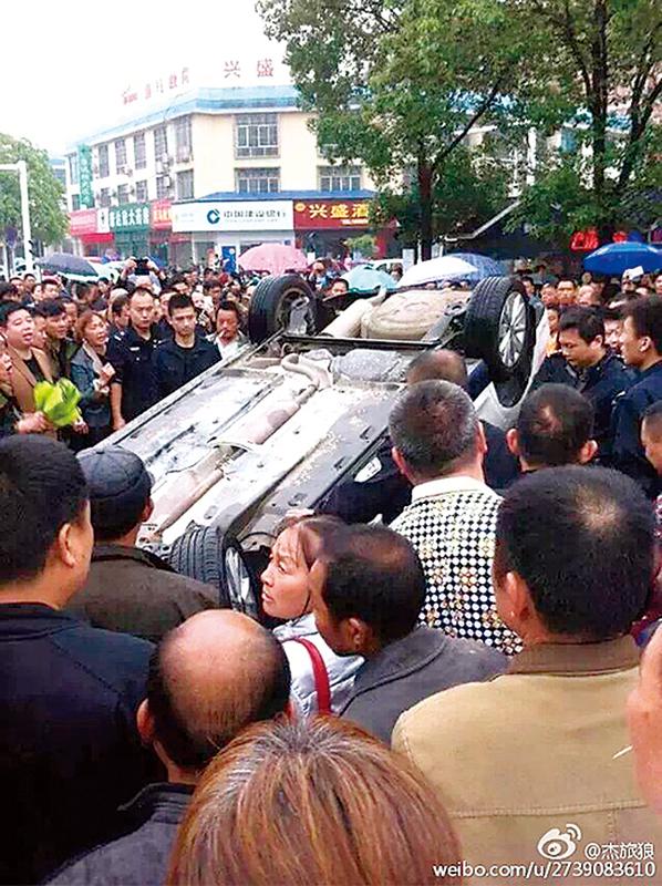 抗議建造垃圾焚燒廠 湖南上千村民圍縣府