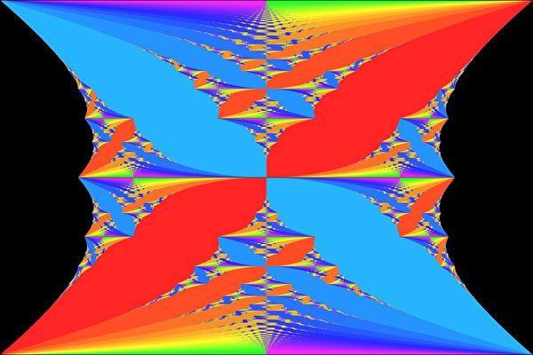 宇宙存在另外時空,可以在我們肉眼前的三維時空中偶爾顯露其局部特點。(Mytomi/維基百科公有領域)