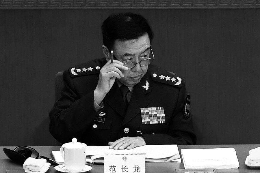 傳媒披露和郭徐有關高級將領都涉重大問題